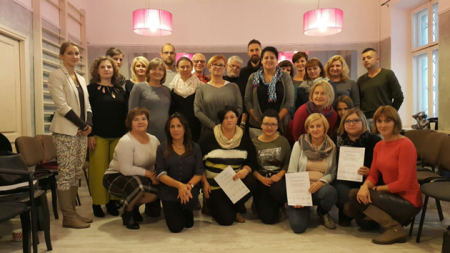 Kurs Otwartego Dialogu w Wieliczce/Krakowie, grupa absolwentów, 2016 r.
